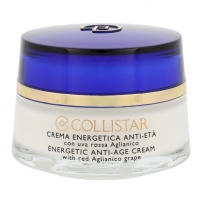 Collistar Energetic Anti Age Cream With Red Aglianico Grape Cosmetic 50ml