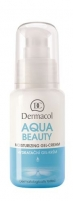 Dermacol Aqua Beauty Moisturizing Gel-Cream Cosmetic 50ml Creams for face