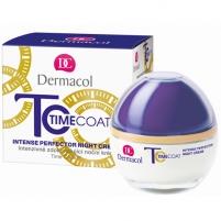 Kremas face Dermacol Time Coat Intense Perfector Night Cream Cosmetic 50ml Creams for face