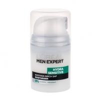 Kremas veidui L´Oreal Paris Men Expert Hydra Sensitive Protecting Moisturiser Cosmetic 50ml Kremai veidui