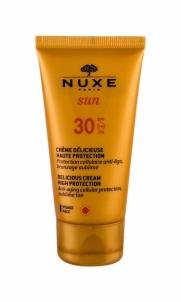 Kremas veidui Nuxe Sun Delicious Face Cream High Protection SPF30 Cosmetic 50ml Saulės kremai