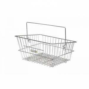 Krepšelis Cadiz Flex chrome 40x30x17 cm for front and back Bicycle accessories