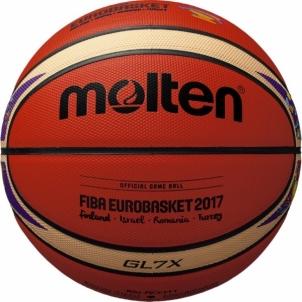 Krepšinio kamuolys BGL7X-E7T Euroba2017