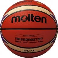 Krepšinio kamuolys BGL7X-E7T Euroba2017 Basketball balls