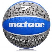 Krepšinio kamuolys Meteor HOT-UP 5/7 Krepšinio kamuoliai