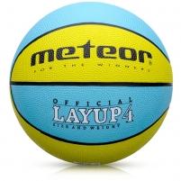 Krepšinio kamuolys METEOR LAYUP #4