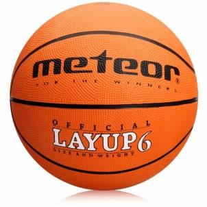 Krepšinio kamuolys Meteor Layup 6 Krepšinio kamuoliai