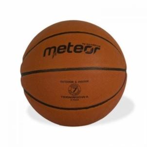 Krepšinio kamuolys METEOR TRAINING #7, ruda