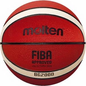 Krepšinio Kamuolys Molten B5G2000 FIBA Krepšinio kamuoliai