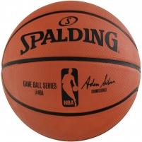 Krepšinio kamuolys SPALDING NBA GAMEBALL REPLICA OUTDOOR 2017 83385Z
