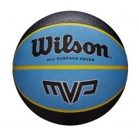 Krepšinio kamuolys WILSON MVP 285 WTB9018XB06 mėlyna - juoda 6 dydis Basketball balls