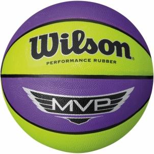 Krepšinio kamuolys WILSON MVP 295 WTB9067XB, violetinė/žalia