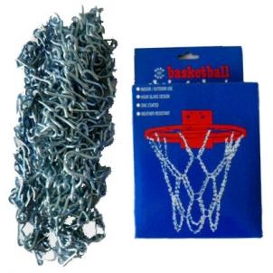 Krepšinio lanko tinkliukas Chain Blister Basketbola stīpu tinkliukai