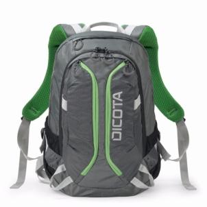 Krepšys/ kuprinė Dicota Backpack ACTIVE 14-15.6 grey/lime