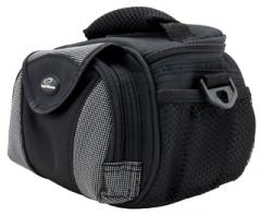 Krepšys/Dėklas Esperanza ET153 skirtas fotoaparatui ir priedams |Juodai sidabr.
