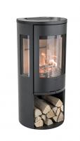 Krosnelė C556:2 Style, juoda su stikliniu viršumi (998010, 998552, 803325)