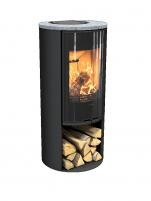 Krosnelė CONTURA C510:3 G Style, juodos spalvos, muilo akmens viršus (798969, 998551)