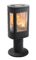Krosnelė CONTURA C886:2 Style, juoda, su stikliniu viršumi (998495, 998660, 203149)