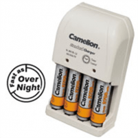 Camelion Overnight Charger BC-0904S (without batteries)