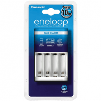 Eneloop Basic charger BQ-CC51E/ 2 LED indicator/ 2 Series x2 (for 2 or 4 AA or 2 or 4 AAA rech. batt.)/ appr. 10 hours charging time