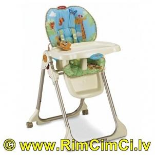 Kūdikio maitinimo kėdutė Džiunglės Fisher Price L0541 Kitos prekės kūdikiams
