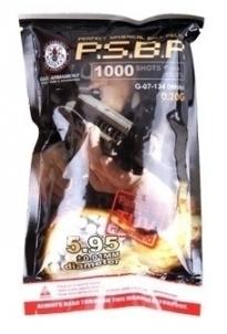 Kulkos AEG 0,20g P.S.B.P G&G 1000 vnt