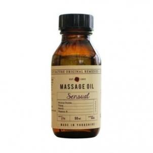Kūno aliejus Fikkerts Massage Body Oil with Essential Oil Sensual (Massage Oil) 50 ml Stangrinamosios kūno priežiūros priemonės