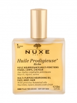 Body aliejus NUXE Huile Prodigieuse Riche Multi Purpose Dry Oil Face, Body, Hair Body Oil 100ml Body creams, lotions