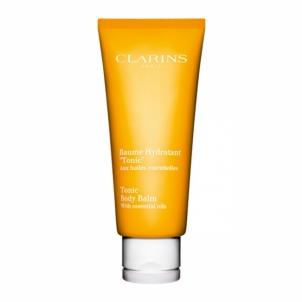 Kūno balzamas Clarins (Tonic Body Balm With Essential Oils) 200 ml Stangrinamosios kūno priežiūros priemonės