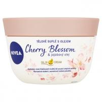 Kūno kremas Nivea Cherry Blossom & Jojoba Oil 200 ml