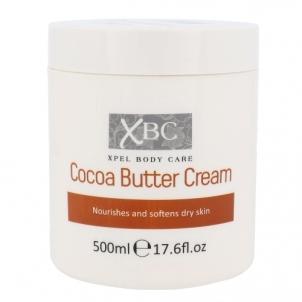 Kūno kremas Xpel Body Care Cocoa Butter Cream Cosmetic 500ml Kūno kremai, losjonai
