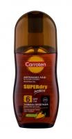 Kūno losjonas Carroten Superdry Suntan Oil Sun 125ml SPF6 Saulės kremai