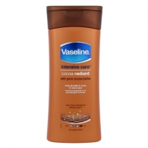Kūno losjonas Vaseline Intensive Care Cocoa Radiant Lotion Cosmetic 200ml Kūno kremai, losjonai