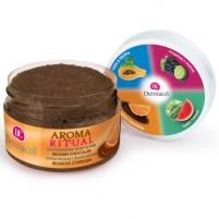 Kūno pylingas Dermacol Aroma Ritual Belgiškas šokoladas 200 g Kūno šveitikliai