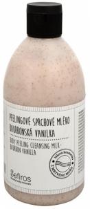 Kūno pylingas Sefiros Bourbonská vanilka (Body Peeling Cleansing Milk) 500 ml Kūno šveitikliai