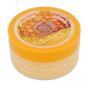 Kūno pylingas The Body Shop Honeymania Cream Body Scrub Cosmetic 200ml Kūno šveitikliai