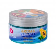 Kūno šveitiklis Dermacol Aroma Ritual Papaya & Mint 200g Body scrubs