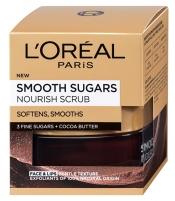 Kūno šveitiklis L´Oréal Paris Nutritious (Smooth Sugars Nourish Scrub) 50 ml Kūno šveitikliai