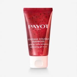 Kūno šveitiklis Payot Solvent Exfoliating Gel with ( Payot Raspberry Gentle Scrub) 50 ml Kūno šveitikliai