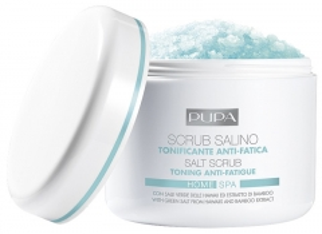 Kūno šveitiklis Pupa Salt Home Spa (Toning Anti-Fatigue Salt Scrub) 350 g Kūno šveitikliai