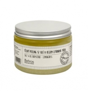 Kūno šveitiklis Sefiros Body Scrub with salt and oil Lemongrass (Salt & Oil Bodyscrub) 300 ml Kūno šveitikliai