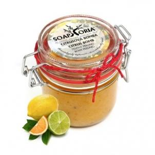 Kūno šveitiklis Soaphoria Natural Body Scrub Citrus Bomb (Citrus Bomb Body Peeling) 250 ml Kūno šveitikliai
