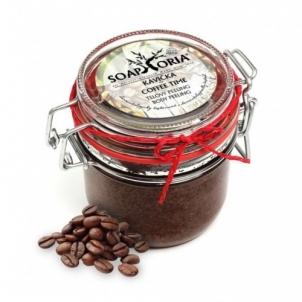 Kūno šveitiklis Soaphoria Natural body scrub cup of coffee (Coffee Time Body Peeling) 255 ml Kūno šveitikliai