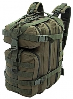 Kuprinė ASSAULT BACKPACK CAMO 25L, žalias