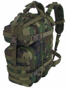 Kuprinė ASSAULT BACKPACK CAMO Military Gear 25L US Woodland