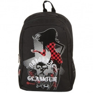 Kuprinė Backpack-GLAMOUR black