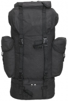 Kuprinė BW 65l bundeswehry, black Tactical backpacks