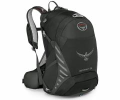 Kuprinė Escapist 25 Juoda, M/L dydžio nugaros sistema Backpacks, bags, suitcases