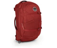 Kuprinė Farpoint 40 Raudona, M/L dydžio nugaros sistema Backpacks, bags, suitcases
