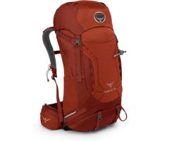 Kuprinė Kestrel 38 Tamsiai raudona, M/L dydžio nugaros sistema Kuprinės, krepšiai, lagaminai